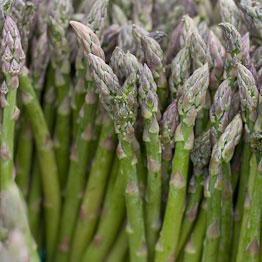 Pic of Grilled asparagus with orange vinaigrette