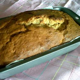 Pic of Banana and walnut loaf