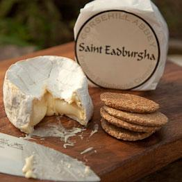 Pic of Baked St Eadburgha cheese