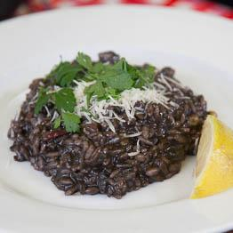 Huitlacoche risotto