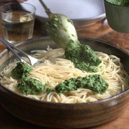 Curly kale pesto