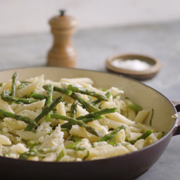 Pic of Penne with asparagus and ricotta