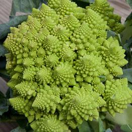 Pic of Roasted Romanesco with almond, lemon and garlic dressing
