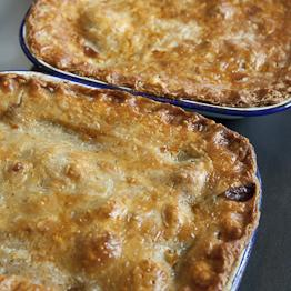 Pic of Steak and kidney pie