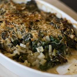 Pic of Chard and anchovy gratin