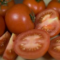 Pic of Potato, mozzarella and tomato salad