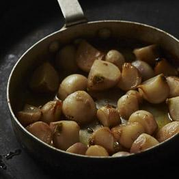 Pic of Turnips caramelised with butter and wine