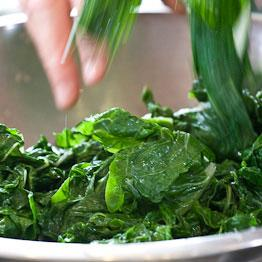 Pic of Spinach raita