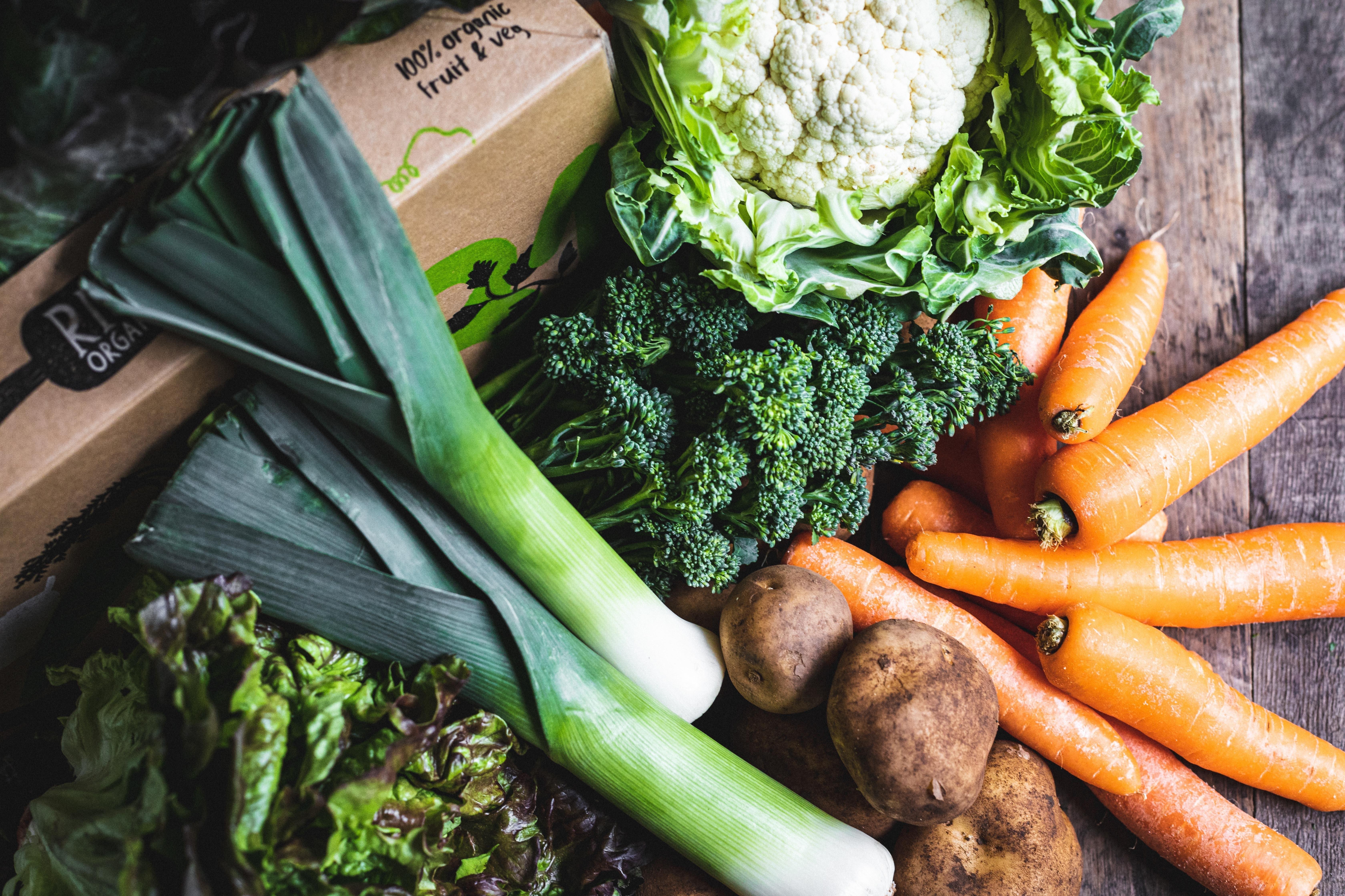 100% UK organic veg box - small