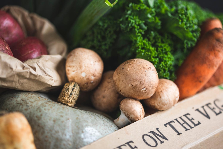 100% UK organic veg box - medium