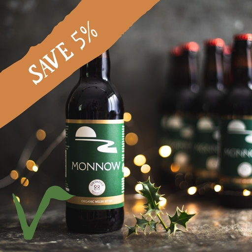 12 x Untapped Brewery monnow ale 50cl