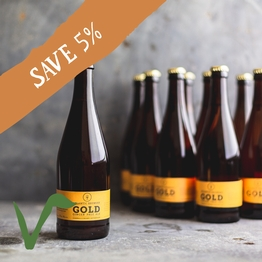12 x Atlantic gold ale 50cl