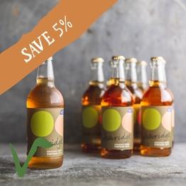12 x Organic vintage cider 50cl