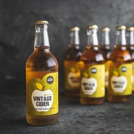 Vintage cider