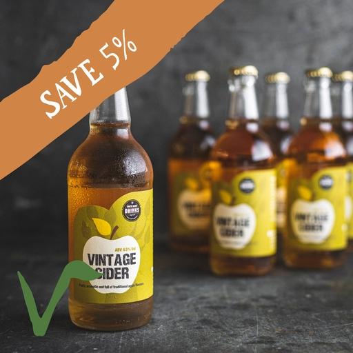 12 x Vintage cider 50cl