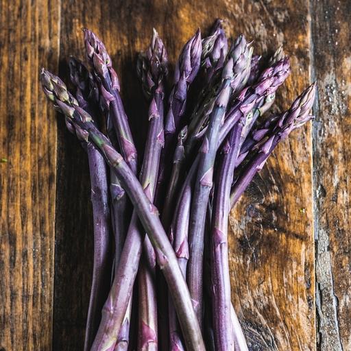 Purple asparagus 250g