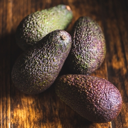 Avocados ripen at home x4