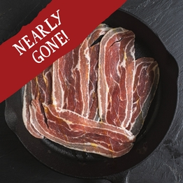 Smoked streaky bacon 184g