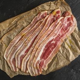 Unsmoked streaky bacon 184g