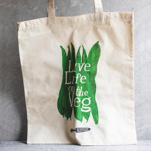 Long handled cotton bag