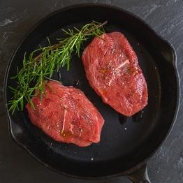 Beef braising steaks