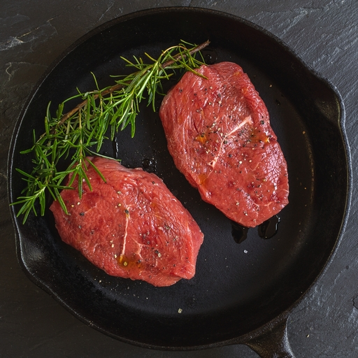 Beef braising steaks 400g
