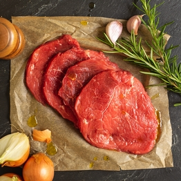 Beef escalopes 300g