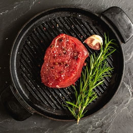 Beef thick cut fillet steak