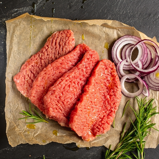 Beef quick fry steaks 400g