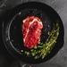 Beef thick cut rib eye steak 250g