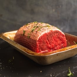Beef roasting joint