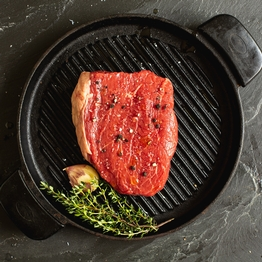Beef thick cut rump steak 250g