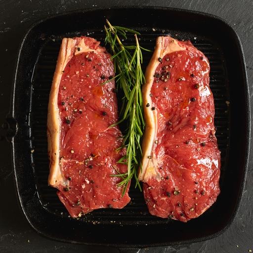 Beef sirloin steaks 380g