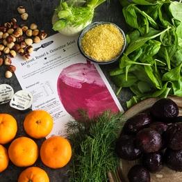 Beetroot Christmas salad