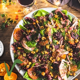 Beetroot Christmas salad