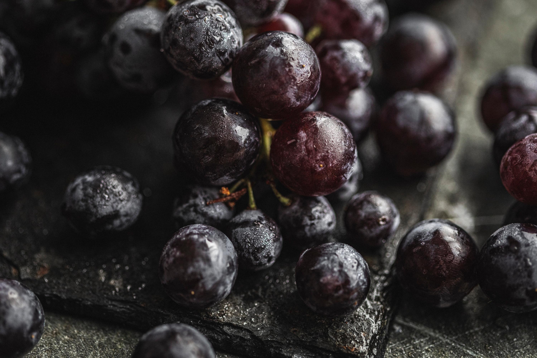 Black muscat grapes