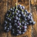 Seeded black muscat grapes 350g