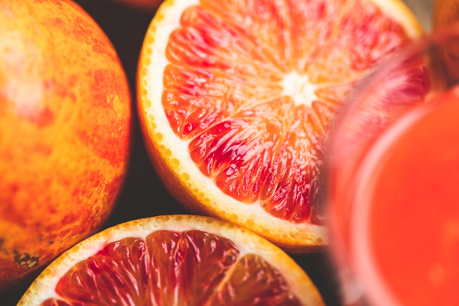 Blood oranges for juicing