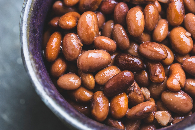 Tinned borlotti beans