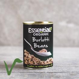 Tinned borlotti beans 400g