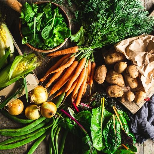Seasonal organic veg box - small