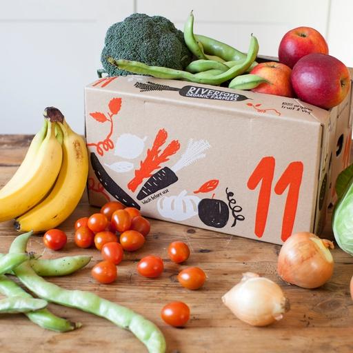 Quick organic fruit & veg box – small