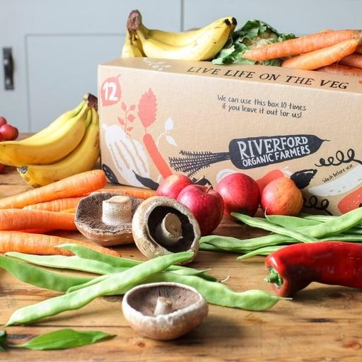 Quick organic fruit & veg box – large