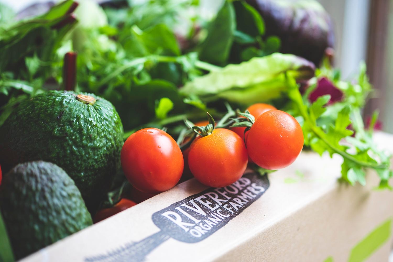 Organic salad box