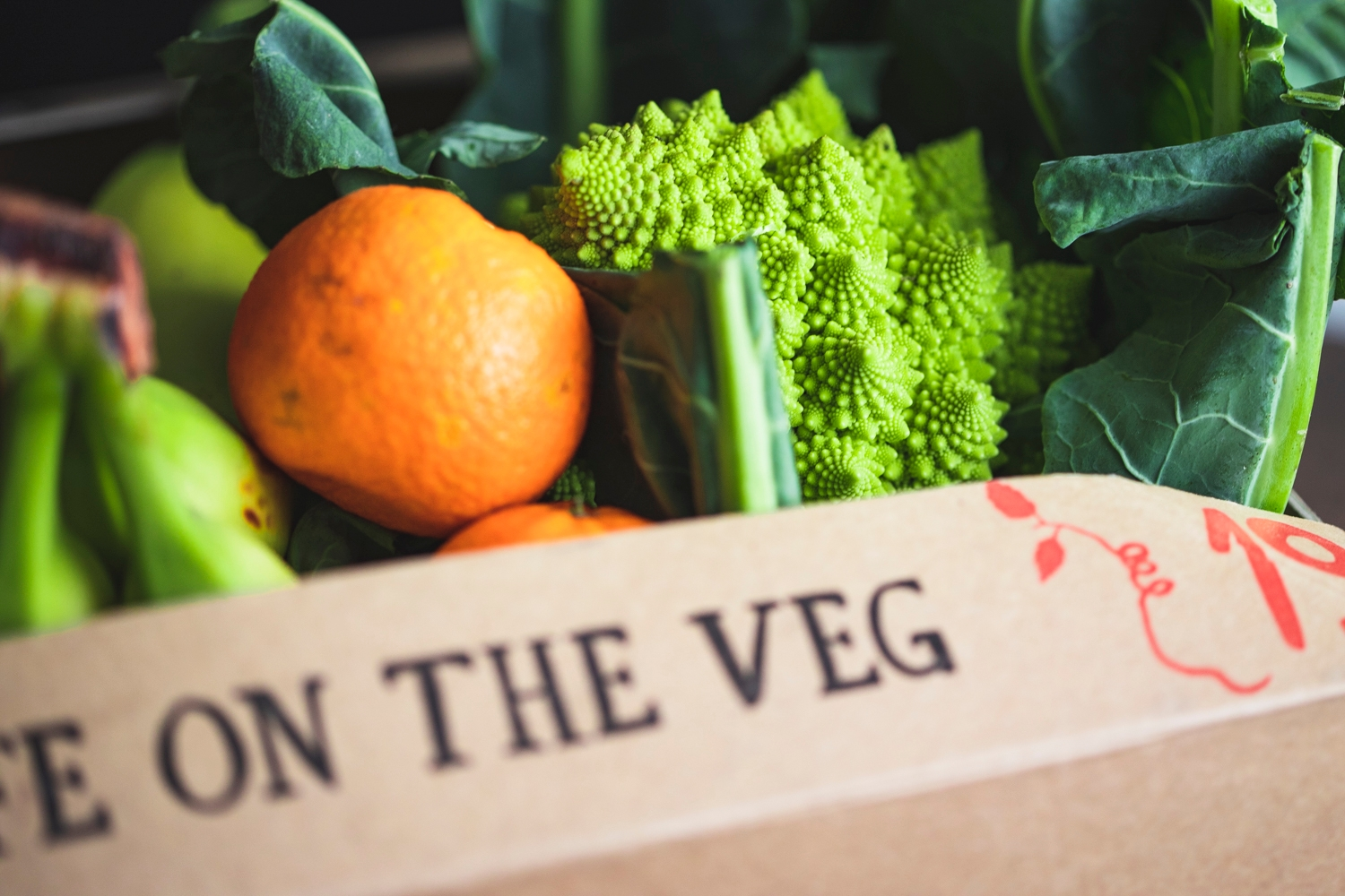 Quick organic fruit & veg box – medium