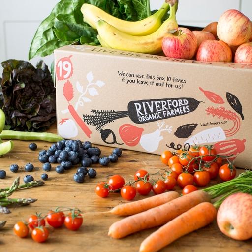 Quick organic fruit & veg box – medium