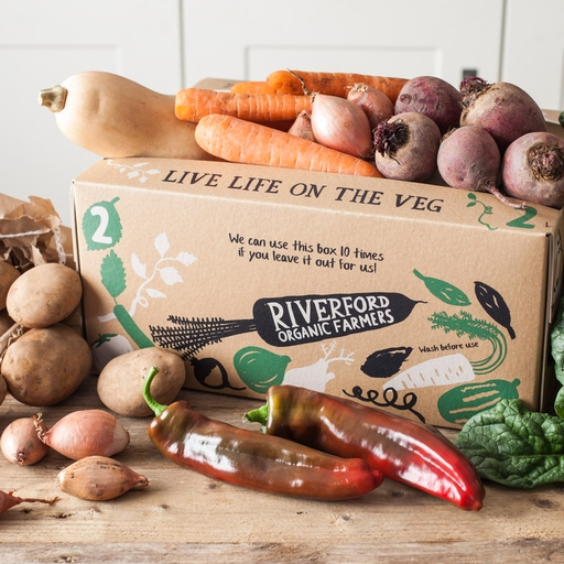 Seasonal organic veg box - medium