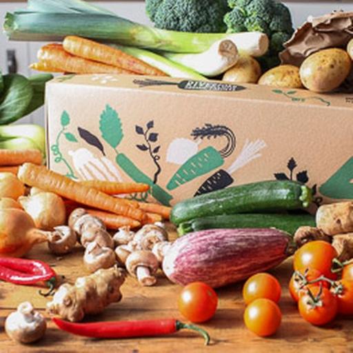 Seasonal organic veg box - bumper