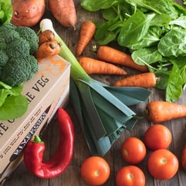 Quick organic veg box - small