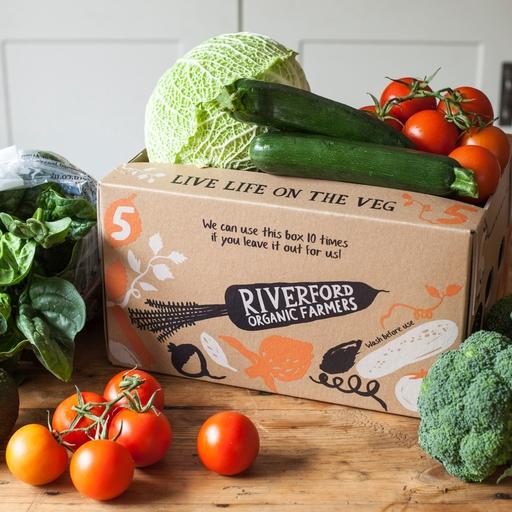 Quick organic veg box - small